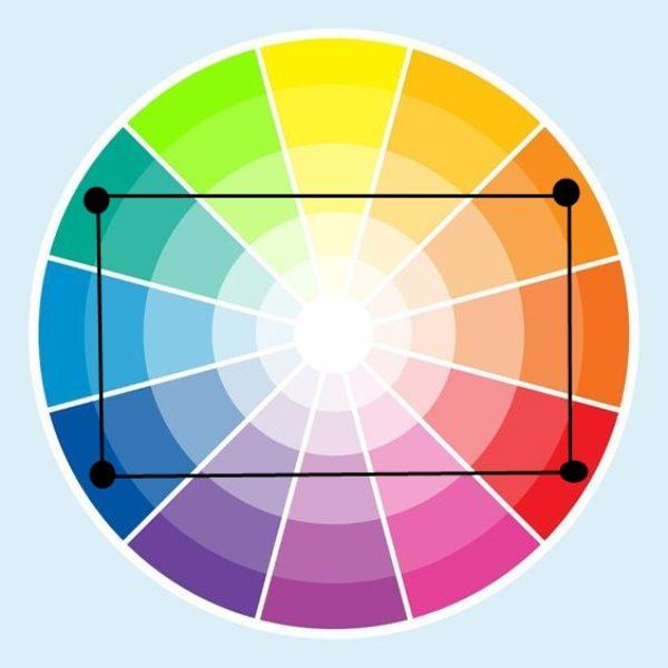kolory tetrada kolo barw