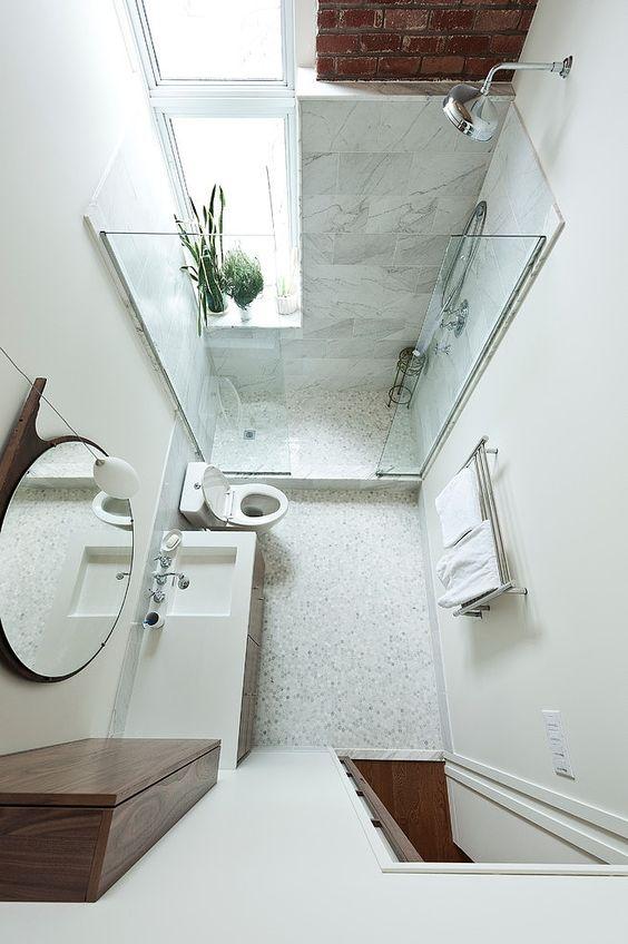 jak urządzić małą łazienkę zdjęcia