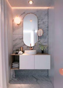 jak urządzić małą łazienkę z wanną