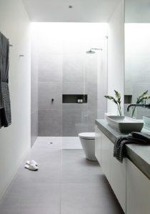 jak urządzić małą łazienkę w bloku bez okna