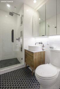 jak urządzić małą łazienkę 3m2