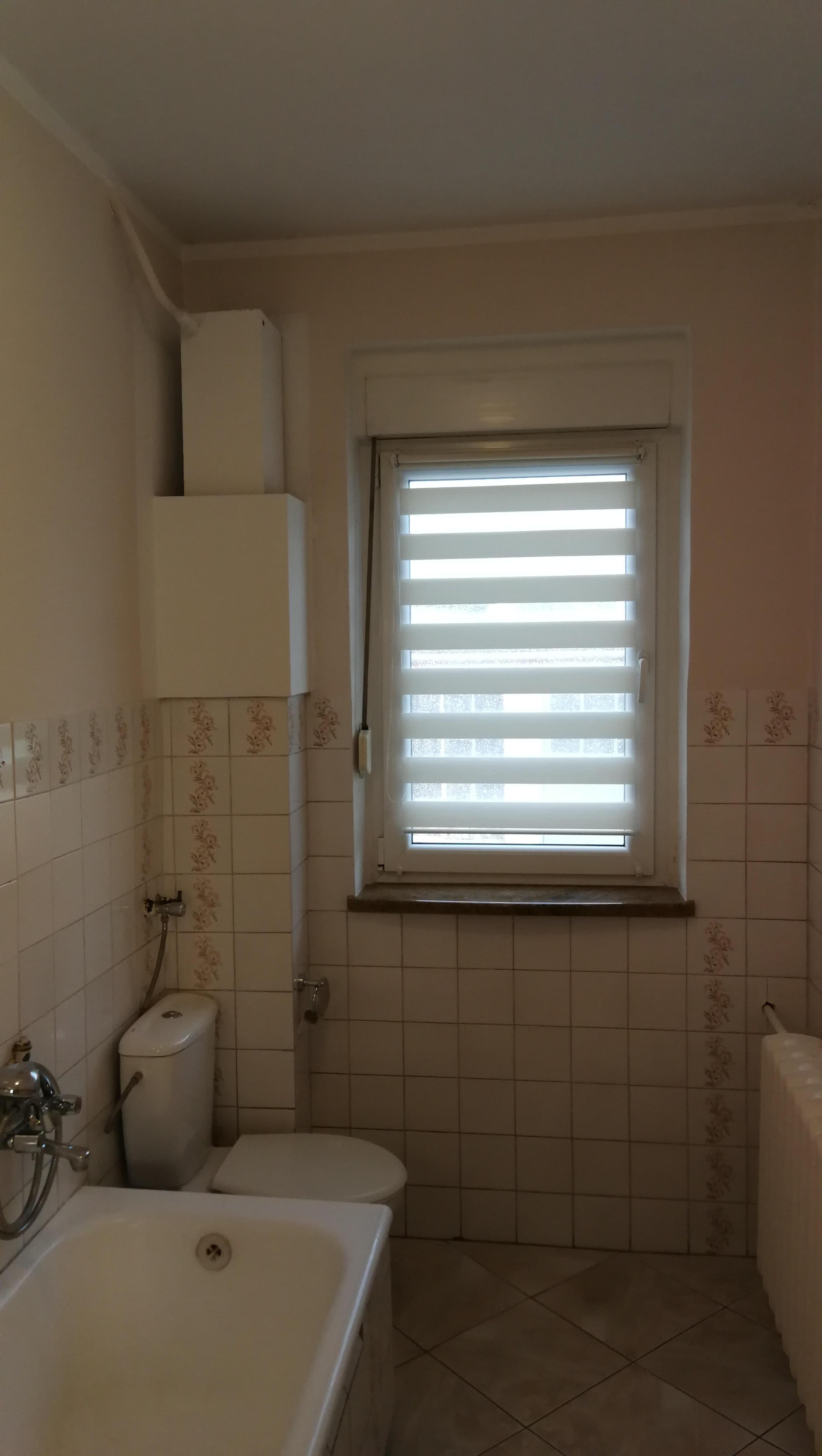 Długa Wąska łazienka Z Oknem Projekt I Aranżacja