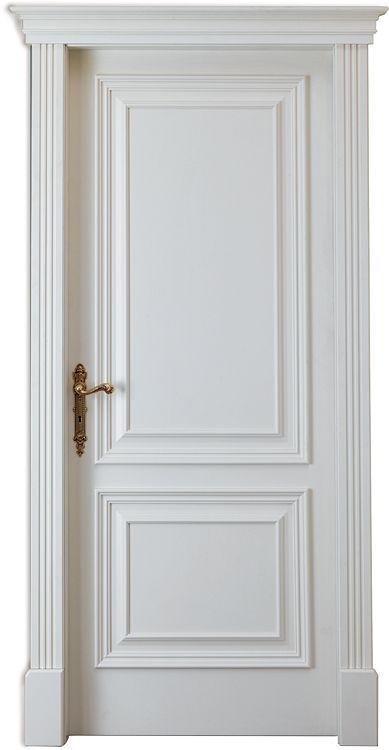 Sztukateria na drzwiach i wokół drzwi