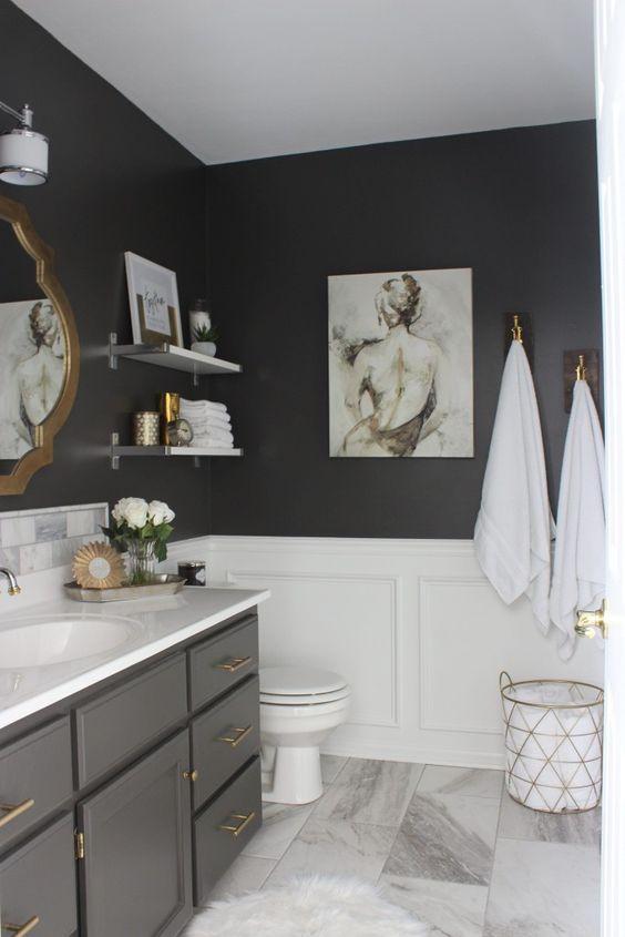 Sztukateria w łazience