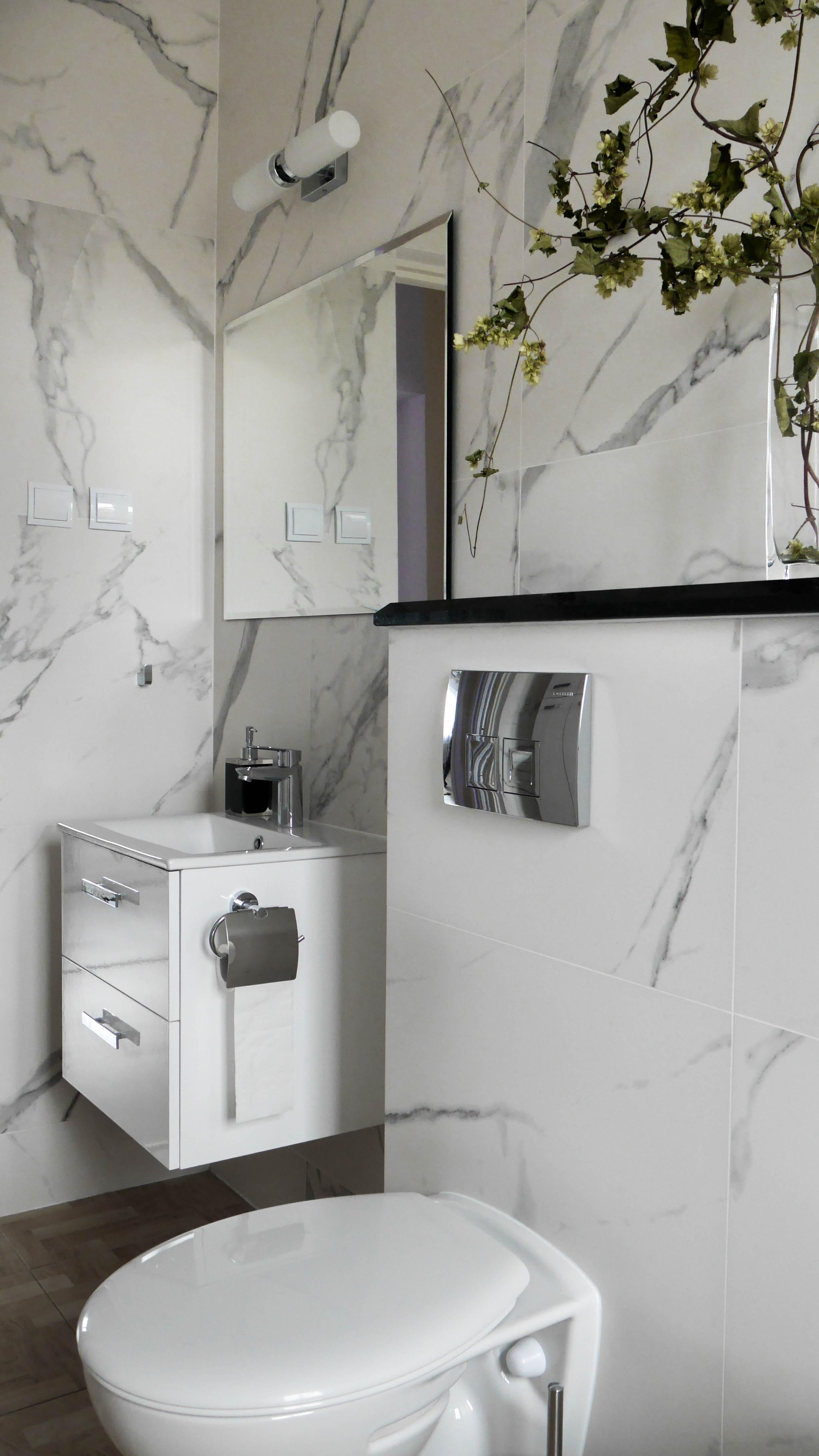 Mała łazienka Z Wanną Pomysł I Aranżacja