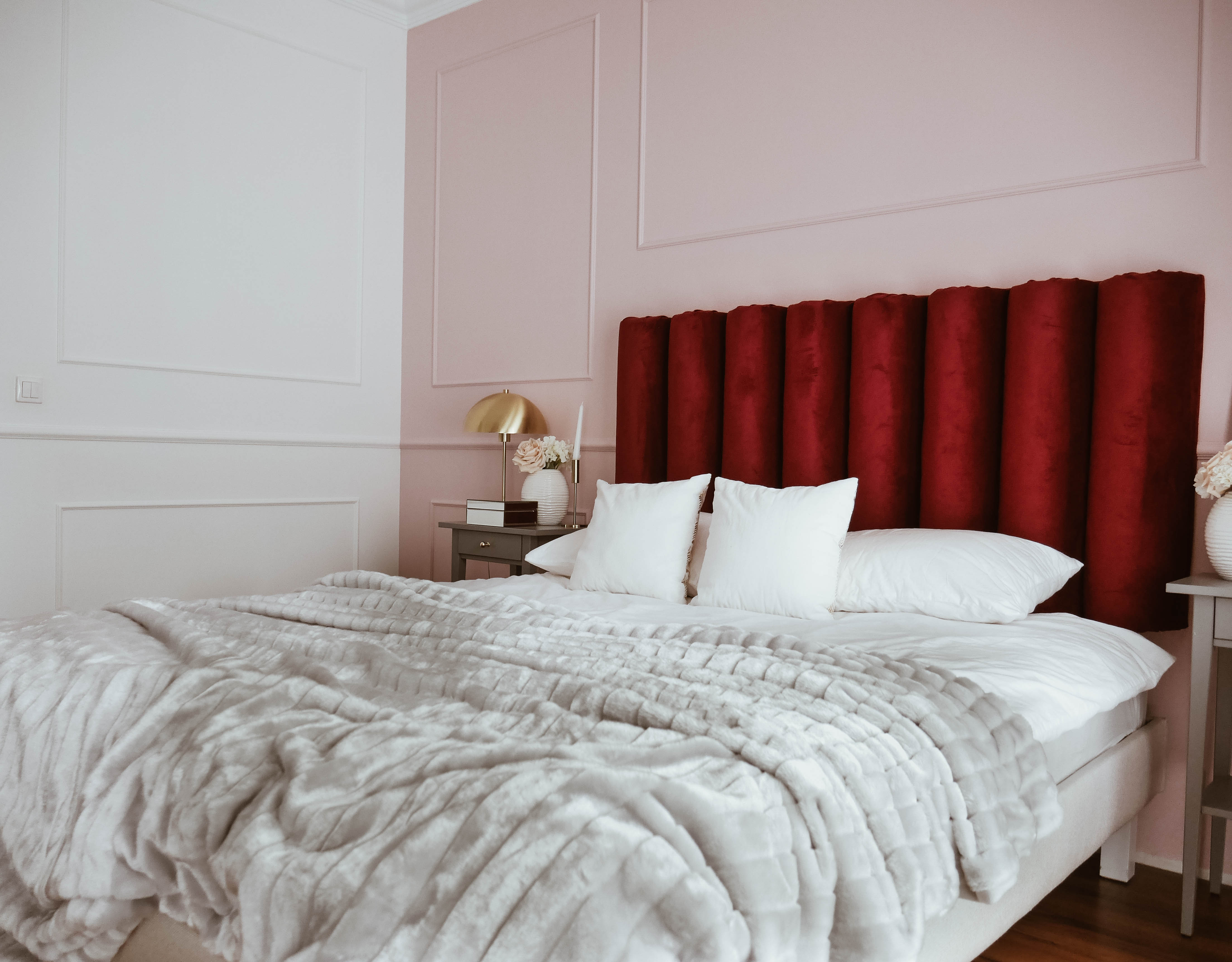 jak zrobić zagłówek do łóżka diy