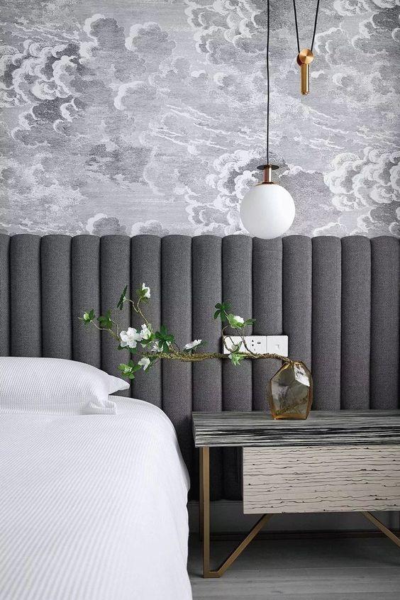 zagłowek tapiecorawany - inspiracje